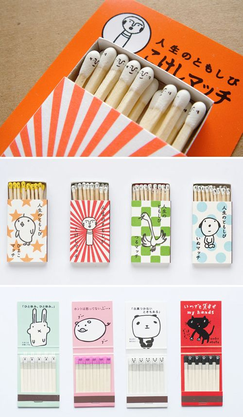 Kika Reichert | inspiration packaging for matches