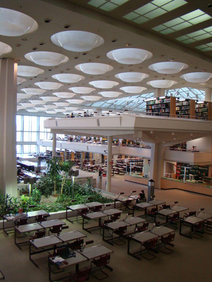Hans Scharoun Staatsbibliothek                                                                                                                                                                                 More