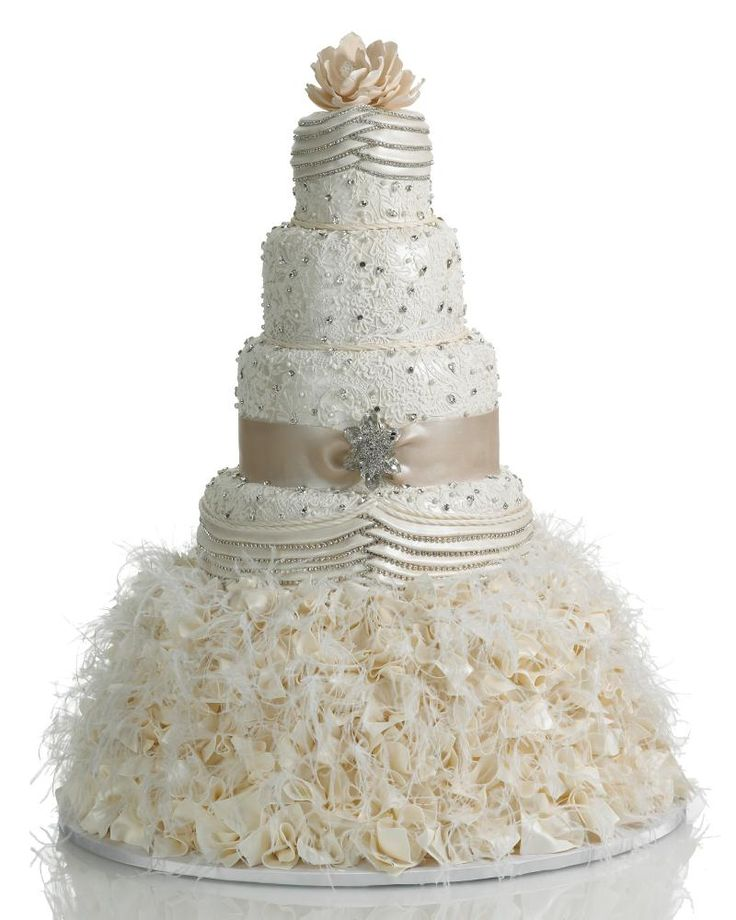 wedding cake, maybe not this cake but like a cake in the form of my dress