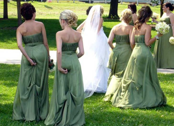 You've done it all from the flowers, decorations and cake, but nothing could prepare you for some of these wedding mishaps. Check out these hilarious photos of the worst wedding fails of all time!  Congratulations to the happy couple. Oh, and the people getting married, too.  Even if everything else went wrong on her wedding day, at least she picked the right bridesmaids.