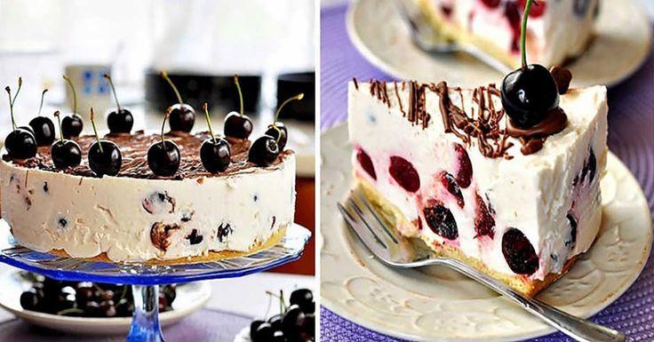 Mióta kipróbáltuk ezt a túrós meggyes tortát, más süteményt nem is kívánunk!