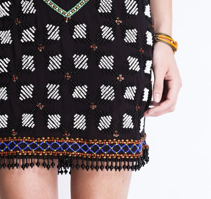 Michel Klein SS2013 Dress #ModeWalk #luxury #fashion #MichelKlein #dress #beaded #intricate