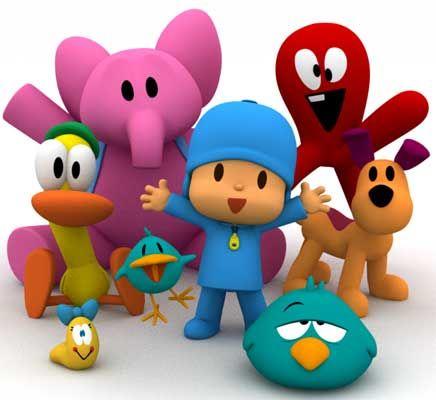 Pocoyó y sus amigos                                                                                                                                                     Más