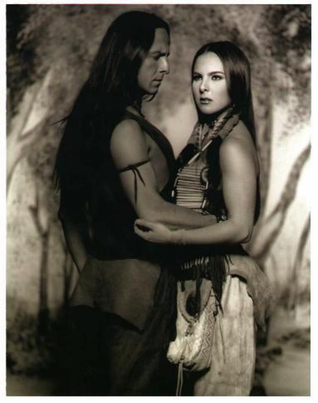Eduardo Palomo y Kate Del Castillo as Alejandro & Ramona in Ramona 2000