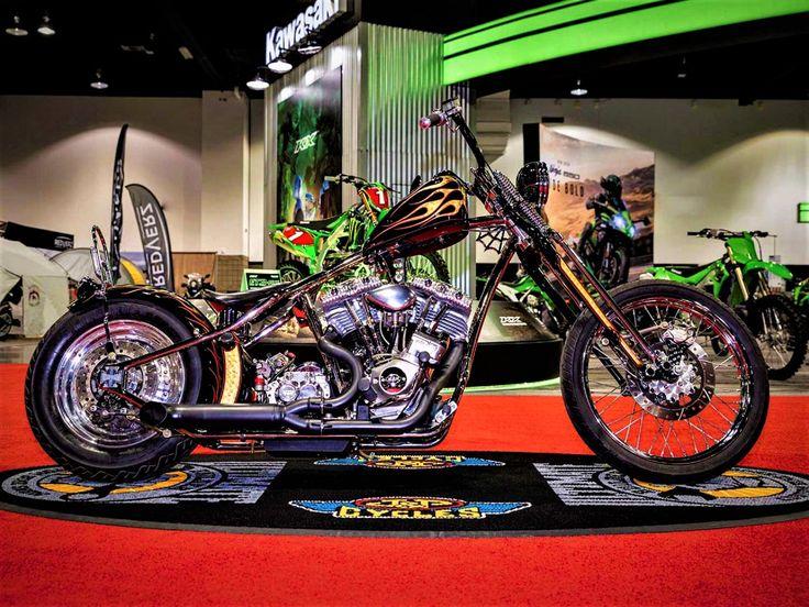 2020 Denver IMS Custom Bike Show Winner in 2020 Custom