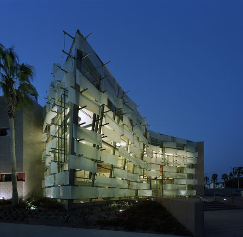 Most innovative curtain wall system | Glass Magazine: LA Police Department