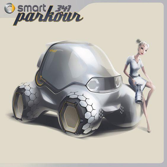 Smart 341 Parkour Concept   OTOTASARIM.COM: