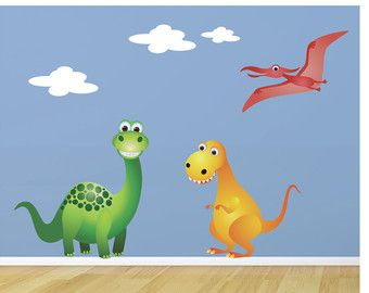 Beautiful Dinosaur Wall Decals Dinosaur Stickers Dinosaur By JanetteDesign Part 30