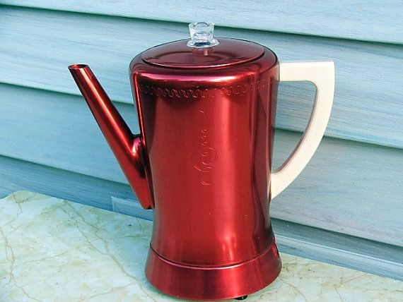 Metal Cone Filter Coffee Pot