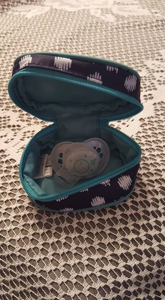 The new Cute Case by Thirty-one is perfect for baby binkies!! Adorable. :)