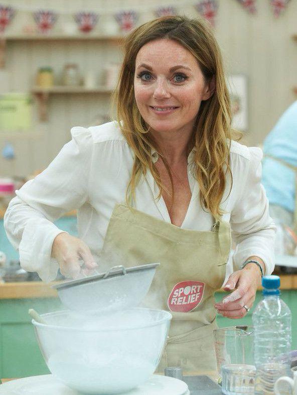 Geri Halliwell on 'Great Sport Relief Bake Off' ~ Spice Girls Net