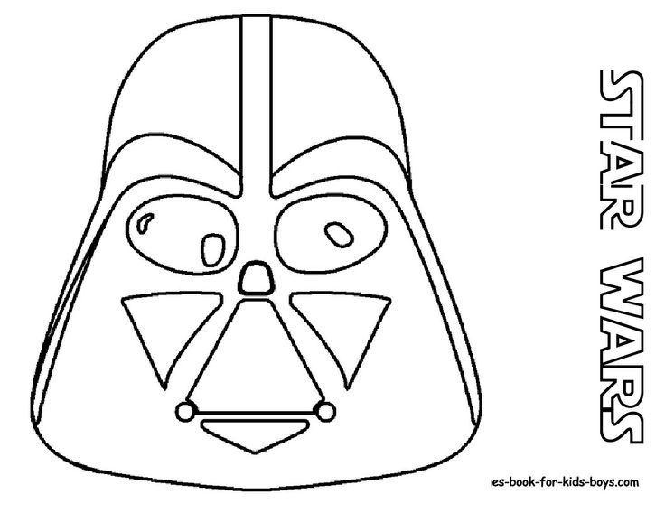 Darth Vader would be easy to change a few things for a pumpkin stencil.