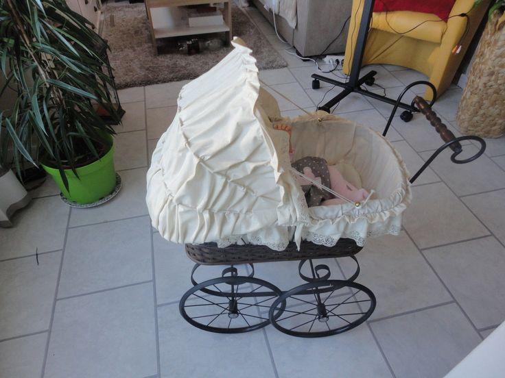 schöner nostalgie puppenwagen | eBay