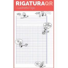 QR: quadretti intelligenti preceduti da righe ergonomiche per la risoluzione di problemi. Pigna