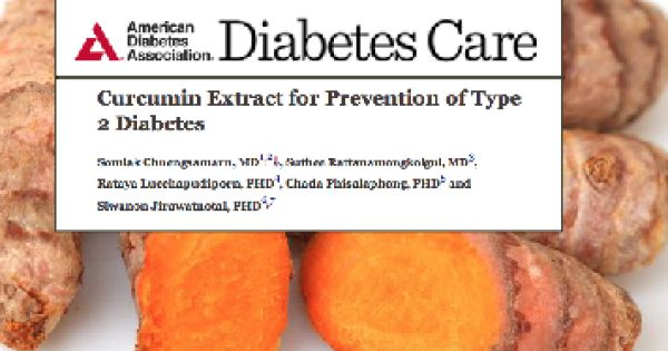 A remarkable human clinical study published in the journal Diabetes Care, the journal of the American Diabetes Association, revealed that turmeric extract was 100% successful at preventing prediabetic patients from becoming diabetic over the course of a 9-month intervention.