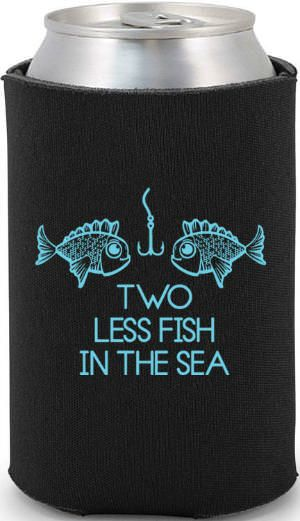 """Two less fish in the sea"""