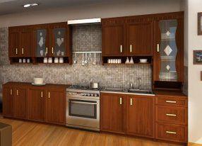 Kuchyně MARGRET 3, 260 cm, ořech