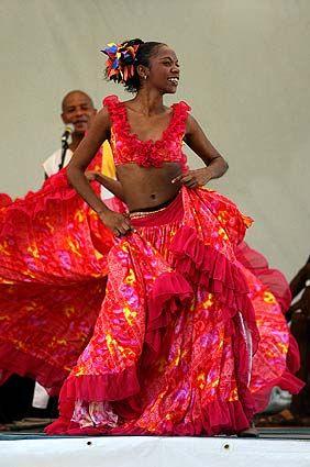 Sega creol festival in Mauritius