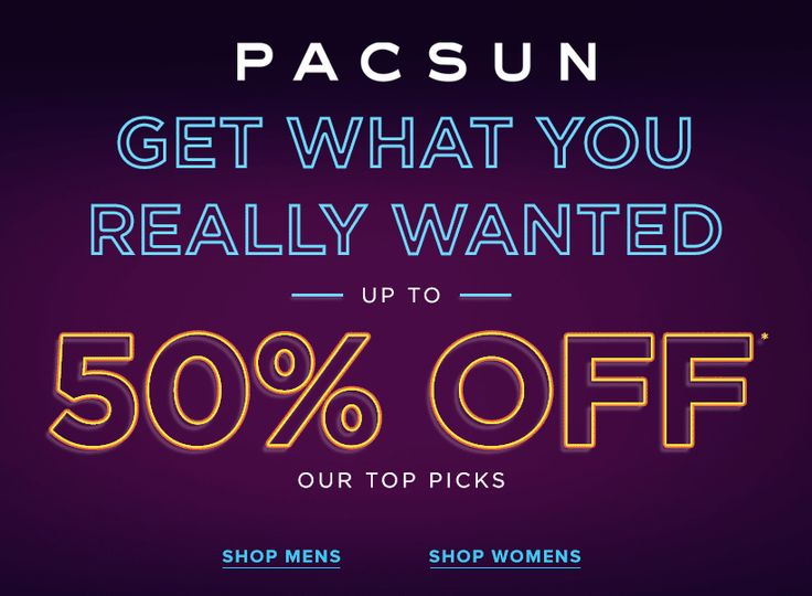 Pacsun coupons 2018 in store