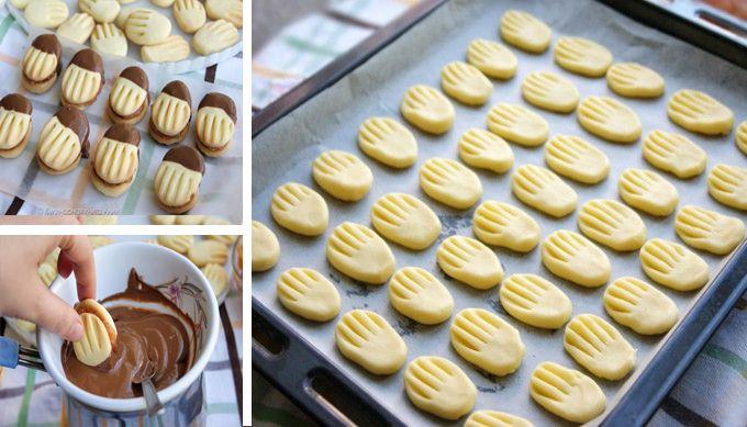 Vychutnejte si obdobu lineckého těsta v podobě těchto lahodných tureckých cookies. Recept je velmi snadný a téměř bezpracný i tak chutná naprosto báječně! Přesvědčte se sami! Oceníte jak rychlou přípravu, tak i vláčnou, jemnou chuť a luxusní křehkost těchto sušenek.Tyto lahodné sušenky si můžete užít s čajem, nebo je podávejte …