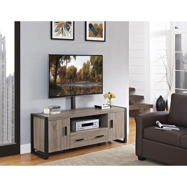 Urban Blend TV Stand with Mount - Ash Grey