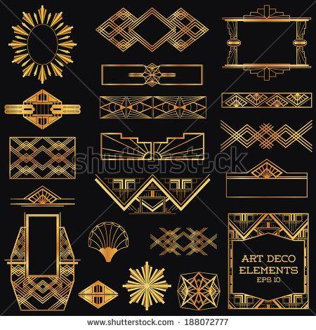 Artdeco ui google posters 30s pinterest for Element deco design
