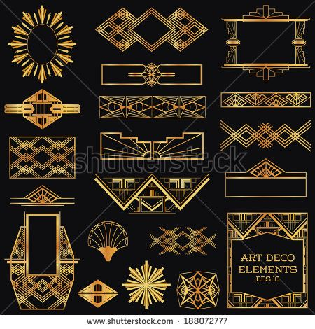 Artdeco ui google posters 30s pinterest search for Deco 5 elements
