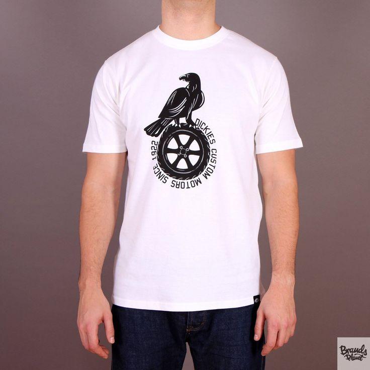 Biała koszulka męska Dickies T-shirt Jenison White  / www.brandsplanet.pl / #dickies streetwear