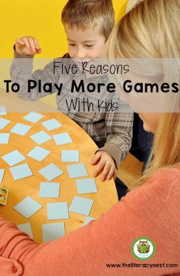 Five Reasons To Use More Learning Games With Kids: Why playing games with kids is important. Great reasons for playing more games with your Kindergarten, 1st, 2nd, 3rd, 4th, and 5th grade classroom or homeschool students. {K, first, second, third, fourth, fifth graders}