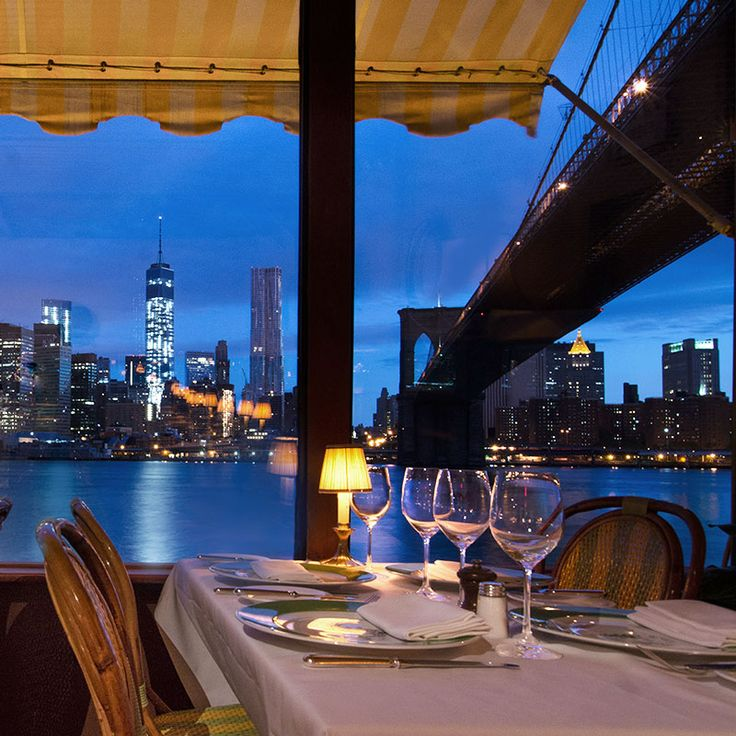 Places In The World That Start With New: New York's Chicest Waterfront Dining