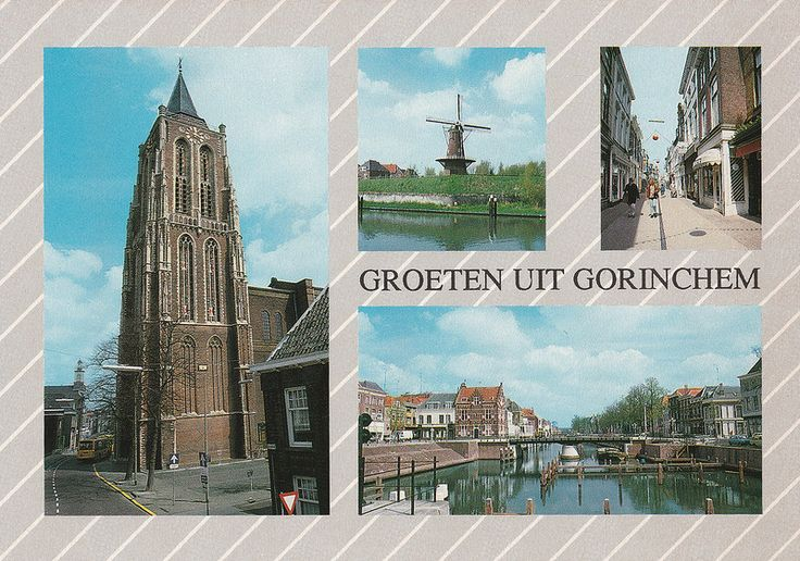 Ansichtkaart - Groeten uit Gorinchem (Van Leer's nr. 88) Multiview | by Barry van Baalen