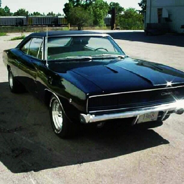 1968 Dodge Charger!! hot stuff!