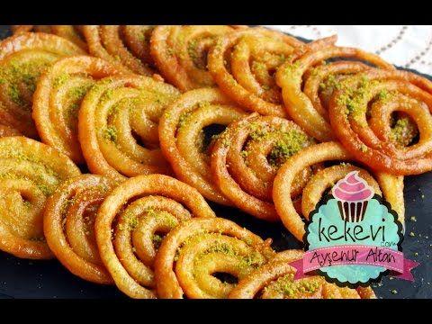 Jalebi Tatlısı (Hint Halka Kızartması) Nasıl Yapılır? / Ayşenur Altan Yemek Tarifleri – Kekevi.com – Ayşenur Altan