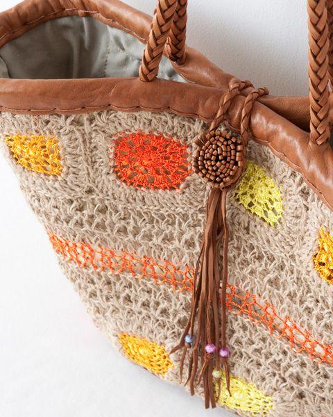 En Shalla(エンシャラ)crochet bag purse