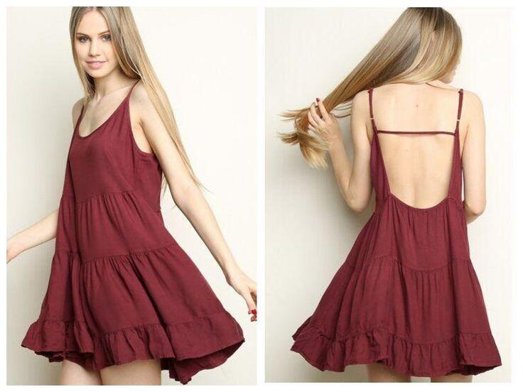 une seule pièce robes européens et américains brandy Melville spaghetti sangle robe sans manches en mousseline Laciness voir-à travers des femmes