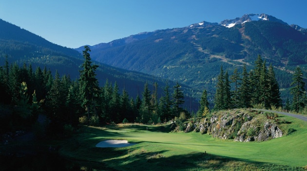 Fairmont Chateau Whistler Golf Club.
