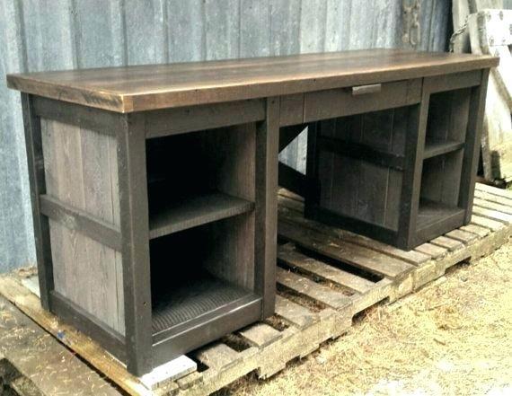 Rustic Wood Desk Reclaimed Wood Executive Desk Best Reclaimed Wood