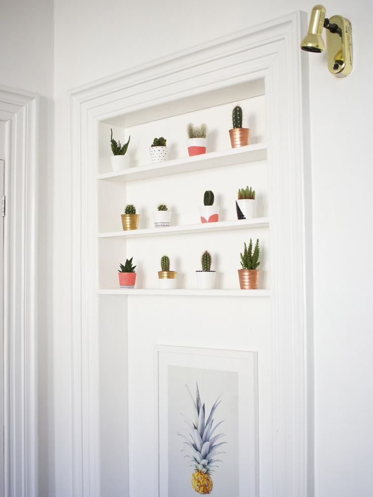 Creative way to display succulents! #LoveNature