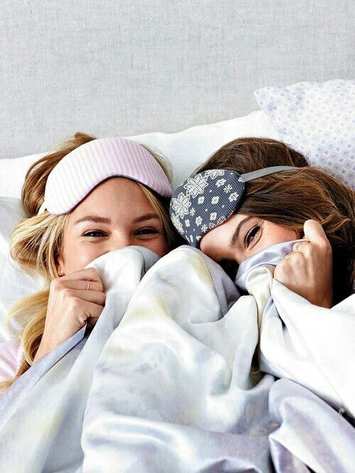 Me and Emily having a sleepover will be like..