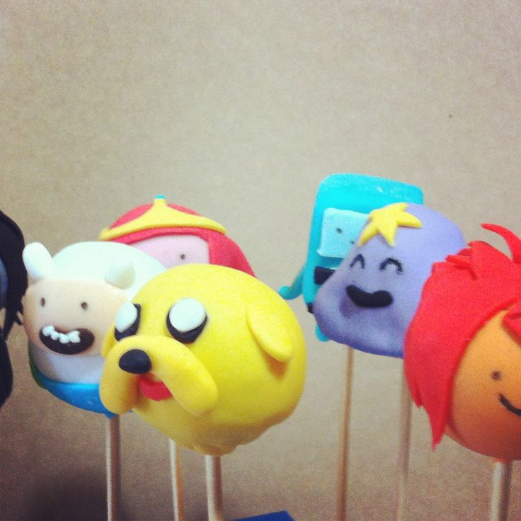 adventure time popcakes @dulces co