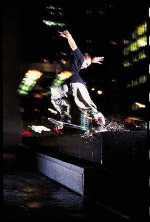 Still probably my favorite skate photo to date (photo by Ryan Gee –Josh Kalis, 2000)