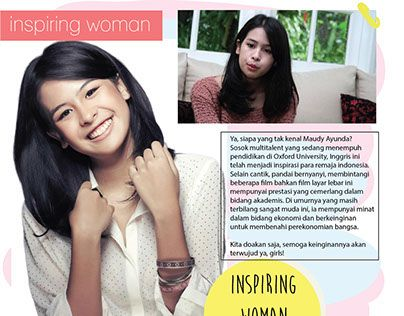 "Check out new work on my @Behance portfolio: ""Maudy Ayunda (Layout Magazine)"" http://on.be.net/1KNeWby"