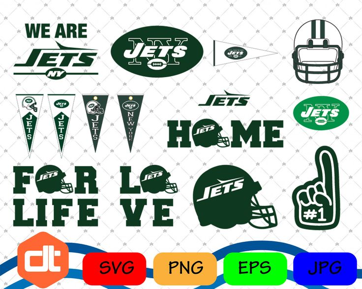 New York Jets Svg, New York Jets vector, New York Jets football, New York Jets PNG, EPS,JPG by DithoDesignShop on Etsy