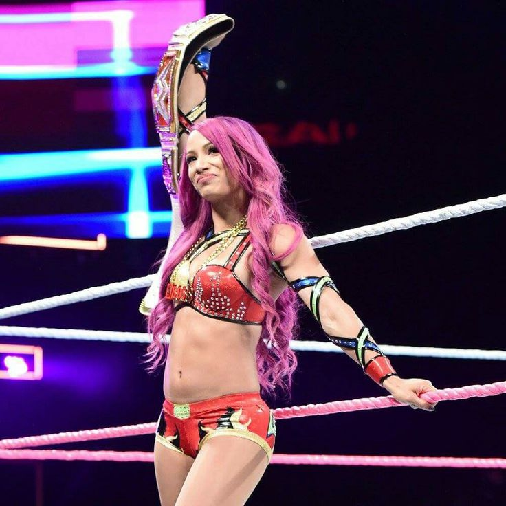 Sasha Banks is Current WWE Raw Women's Champion