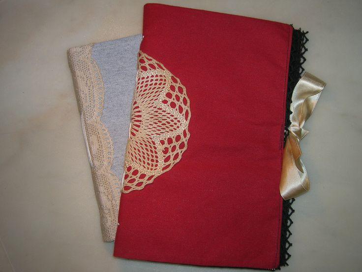 Fabric cover books