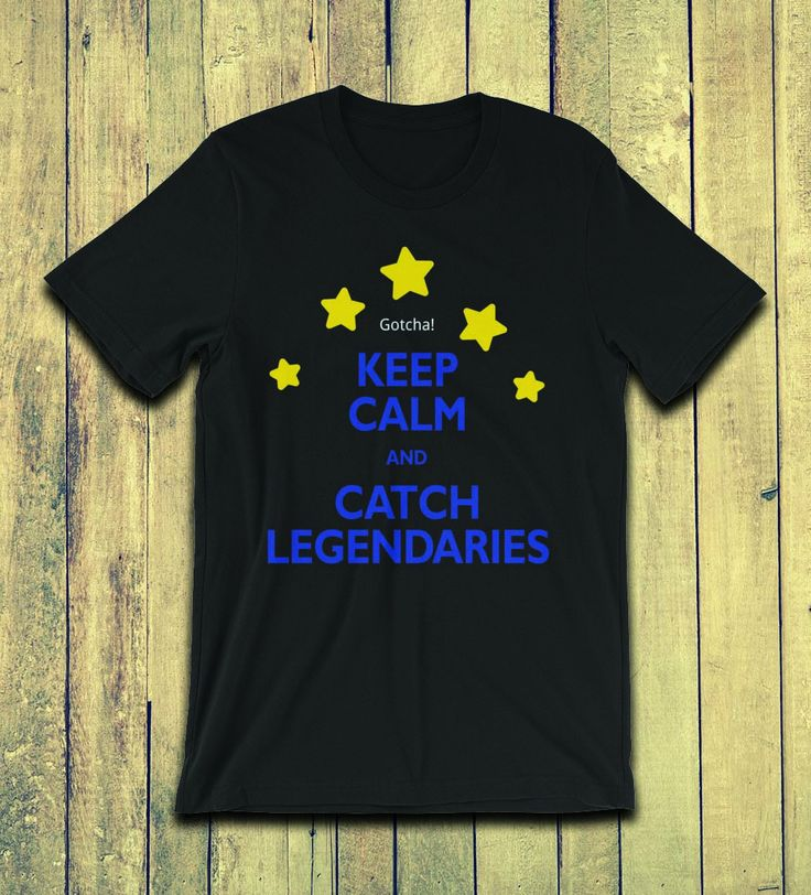Legendaries are here in Pokemon Go! Get your raid passes ready, grab this celebratory tee, and get out there and catch some good ones! We have text colors available for all 3 teams on a lightweight unisex black shirt.  If you would like a different shirt color (current shirts are black) or another font color, please feel free to send us a message and we will set up another version for you.  Happy Hunting