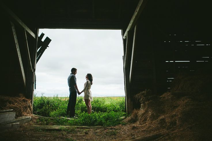 A summer engagement session in the fields of Tantramar Marshes, just outside of Sackville, New Brunswick.