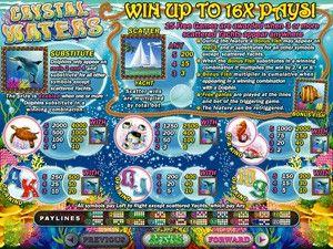 Crystal Waters Online Slots