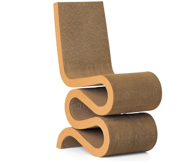Silla wiggle del diseñador Gehry on http://silose.com