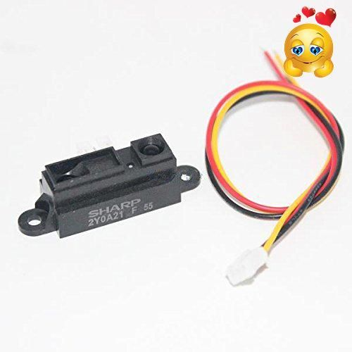 #super Product Description : #5PCS/LOT GP2Y0A21YK0F 100% NEW 2Y0A21 10-80cm Infrared distance for arduino sensor (INCLUDING WIRES )